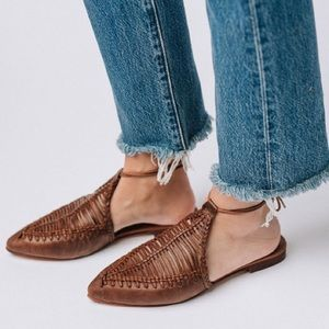 NIB Free People leather shoes